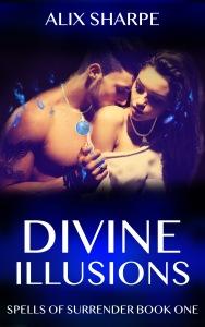 Book Cover DIVINE ILLUSIONS REVAMP