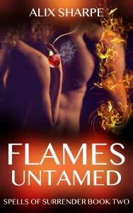 Book Cover FLAMES UNTAMED REVAMP